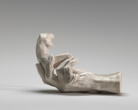 Hand of Rodin with a Female Figure