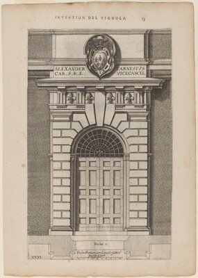 Doorway of Farnese Palace