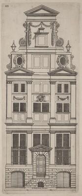Dutch Facade Elevation: pl. 3