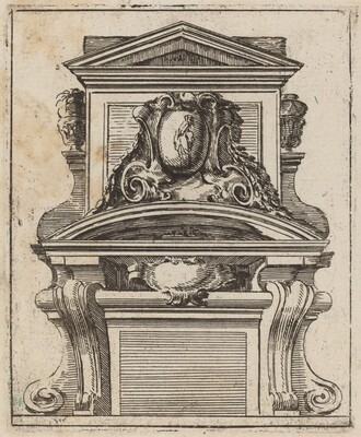 Architectural Motif with a Figure