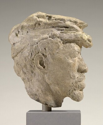 Study Head of a Black Soldier