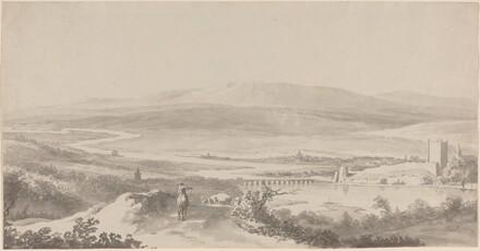 Panorama of the Danube near Grinzing