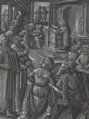 Christ Healing the Lame [verso]