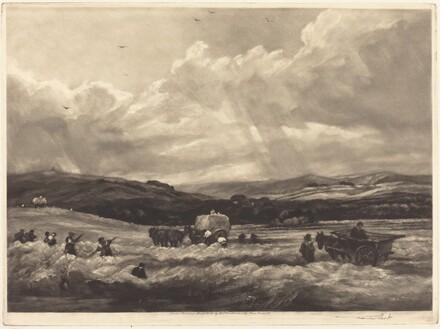 Hayfield in Yorkshire