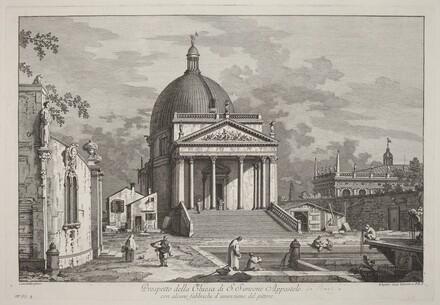 Prospetto della Chiesa di S. Simeone Appostolo