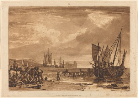 Scene on the French Coast