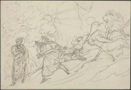 Dante Flees the Wild Beasts and Meets Virgil