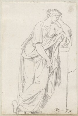 A Muse from the Sarcophagus of the Muses