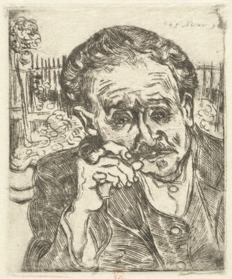Dr. Gachet (Man with a Pipe)