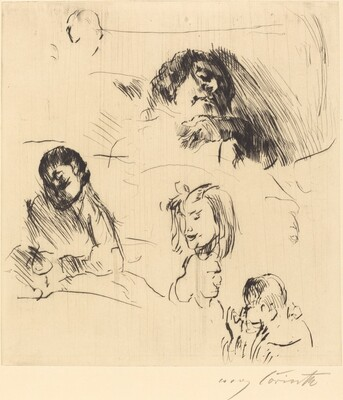 Portrait Sketches (Verschiedene Bilnisstudien)