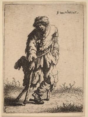 Beggar with a Wooden Leg