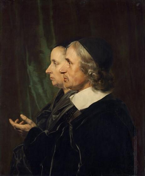Portrait of the Artist's Parents, Salomon de Bray and Anna Westerbaen