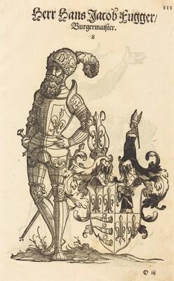 Page from Geschlechter Buch - Ausberg