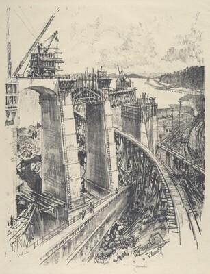 The Approach to Gatun Lock