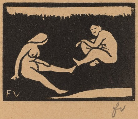 Two Seated Bathers (Deux baigneuses assises)