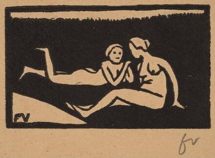 Bathers on the Grass (Baigneuses étendues sur l'herbe)