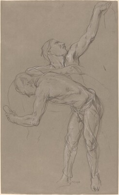 Two Male Figures: Study for The Good Samaritan