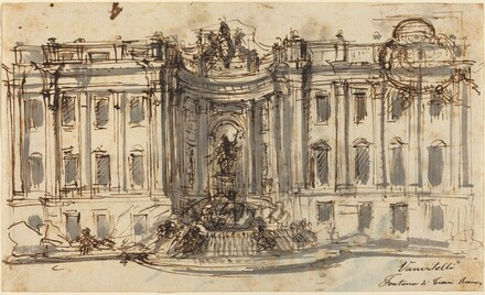 Proposal for the Trevi Fountain