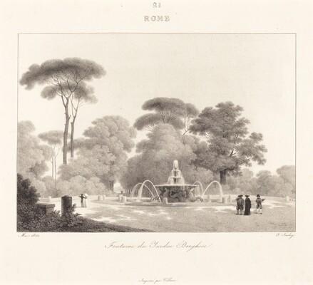 Fontaine de Jardin Borghese