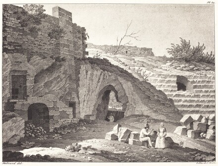 Rustics Picnicking in Ruins