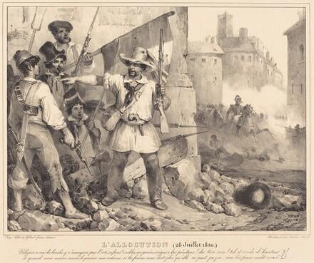L'Allocution, 20 juillet, 1830