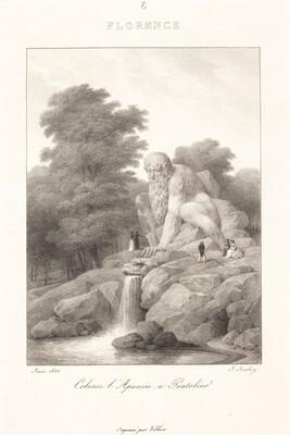 Colossus L'Apenin, Pratolino