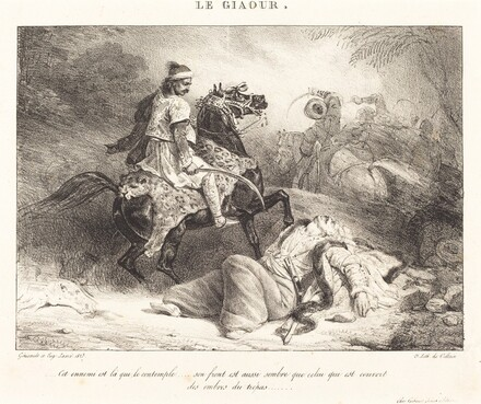 Le Giaour (The Infidel)
