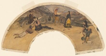 Spanish Dancers and Musicians