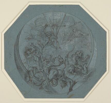Saint Michael Defeating Heresy and Satan