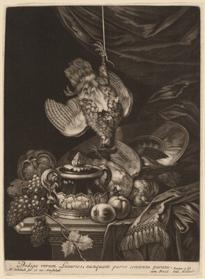 Still Life with a Hanging Partridge
