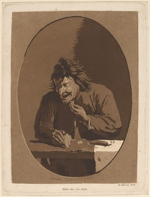 A Peasant Eating