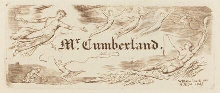 George Cumberland's Card