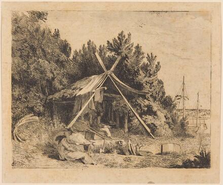 The Camp of Stothard, Blake, Ogleby