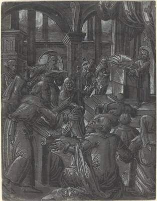 Christ Disputing with the Doctors