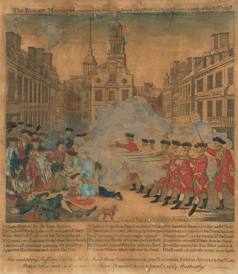 The Boston Massacre (The Bloody Massacre)