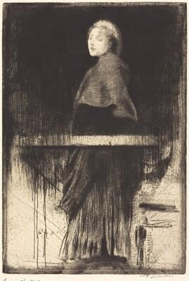 Woman in a Cape (La femme à la pèlerine)