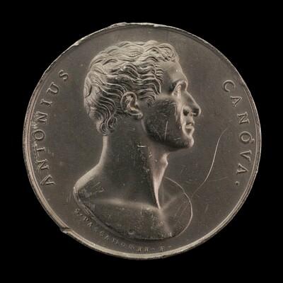 Antonio Canova, 1757-1822, Sculptor [obverse]