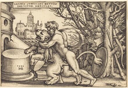 Hercules Killing the Nemean Lion