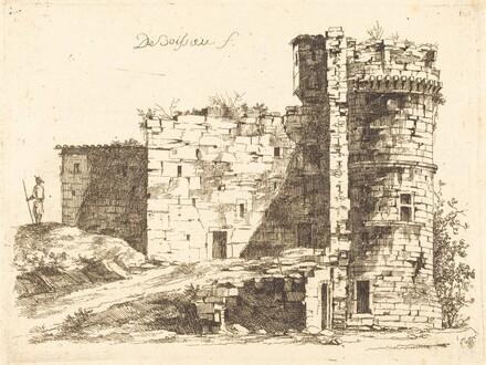 Ruins of the Château Saint-Chamond, Loire