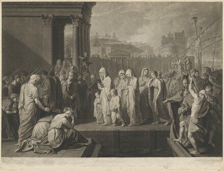Agrippina Landing at Brindisi with the Ashes of Germanicus