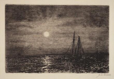 Moonlight at Low Tide