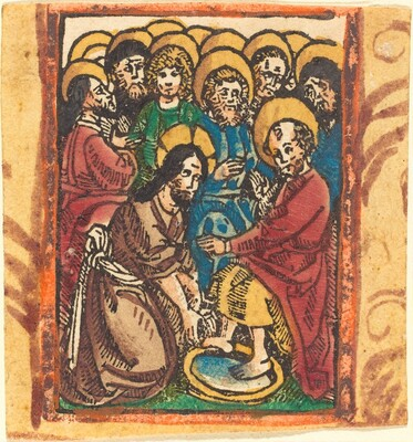 Christ Washing the Feet of the Apostles