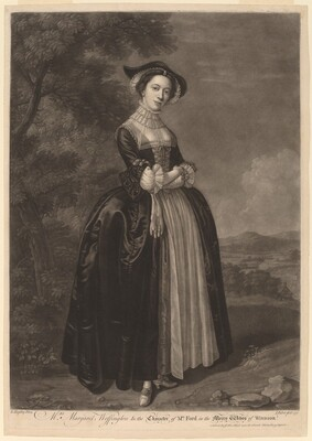 Mrs. Margaret Woffington in the Character of Mrs. Ford in the Merry Wives of Windsor