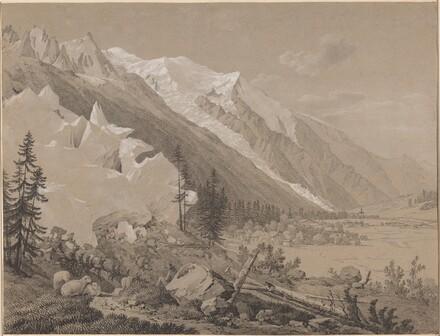 Vue du Mont Blanc