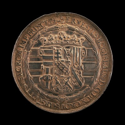 Shield of the Arms of Croy and Arschott [reverse]