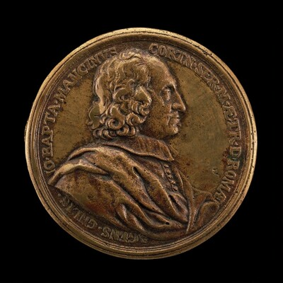 Giovanni Battista Mancini, died 1694, Agent General of Tuscany in Rome [obverse]