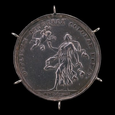 Venus and Cupid Bestowing Two Crowns [reverse]