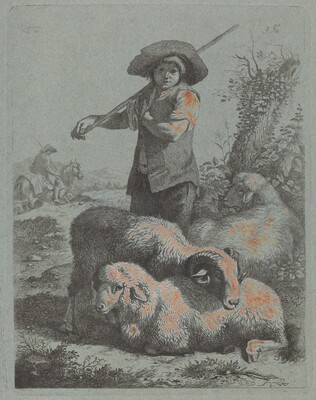 Standing Shepherd