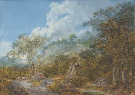 Arcadian Landscape with an Obelisk