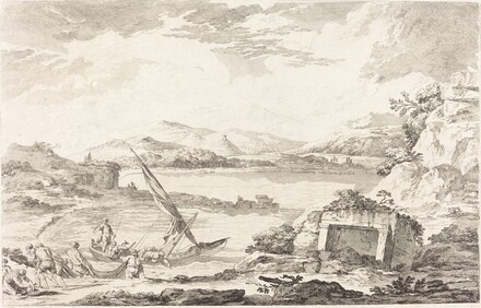 View of the Ancient Port of Phaleron, Athens